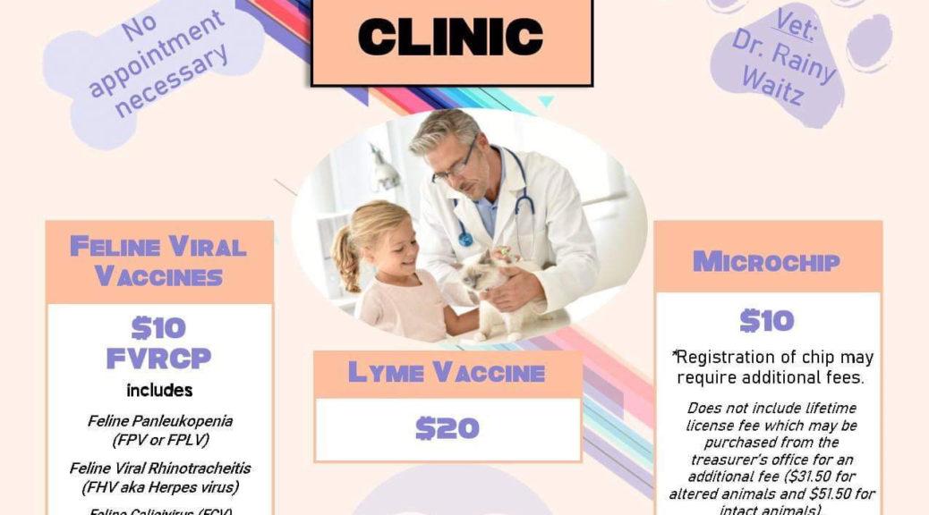 March Vaccine Clinic